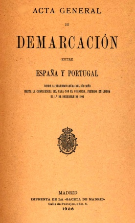 DESCRIPCION GEOMETRICA DE LA LINEA FRONTERIZA